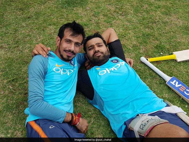 Rishabh Pant Pokes Fun At Yuzvendra Chahal After Rohit Sharma