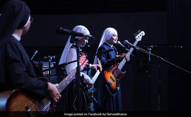 These Nuns, Set To Play For Pope, Are Not Your Usual Rock And Roll Band