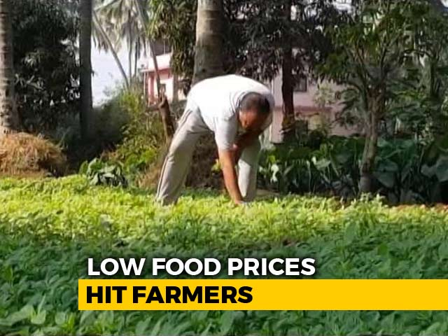 Video : As Inflation Falls, Low Food Prices Hit Farmers