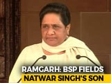 Video : Ramgarh Polls: Mayawati May Spoil Congress' Majority Dreams In Rajasthan