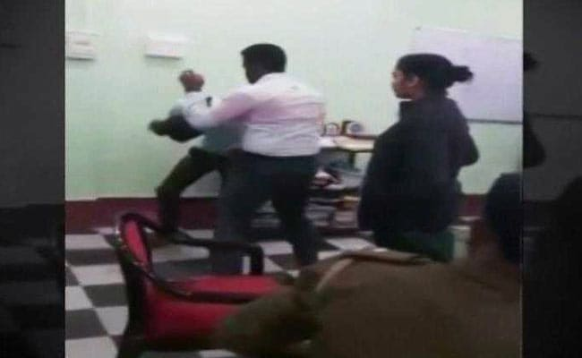 On Video, IAS Officer, Wife Thrash Young Man Inside Bengal Police Station
