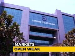 Video: Sensex Falls 96 Points, Nifty Struggles Near 10,750