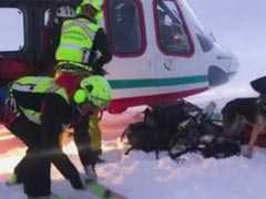 7 Killed After Tourist Plane, Helicopter Crash Above Glacier In Italy