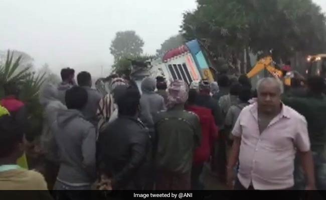 2 Dead, 37 Injured As Bus Overturns In Odisha