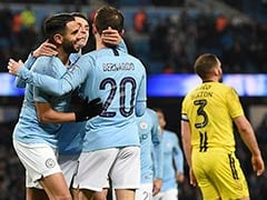 Manchester City Hit Nine Past Burton Albion To Cruise Towards League Cup Final