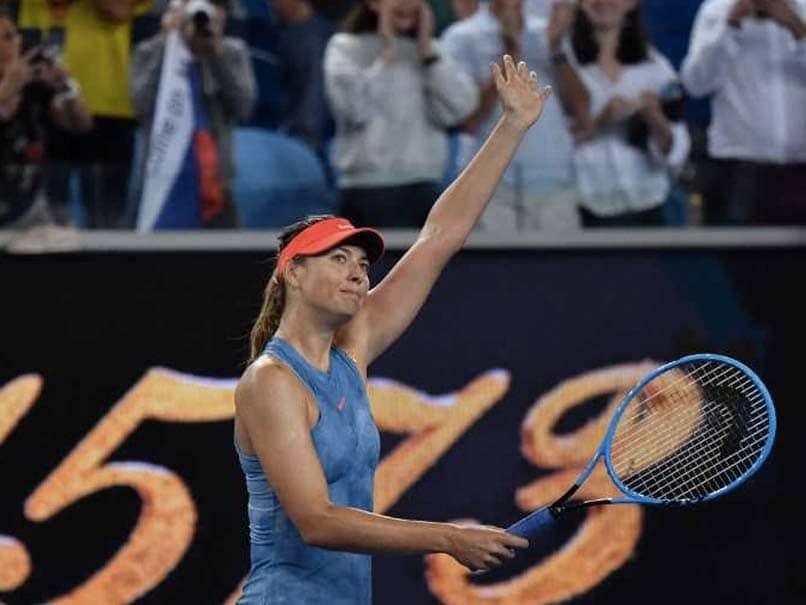 Australian Open 2019: Dominant Maria Sharapova Win Sets Up Caroline Wozniacki Clash