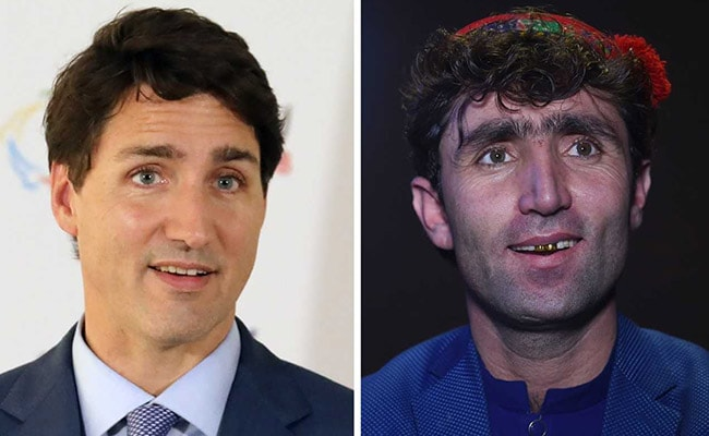 Afghan singer finds fame as Trudeau's double