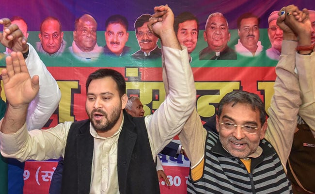 Tejashwi Yadav, Upendra Kushwaha Accuse Nitish Kumar Of Using Foul Language