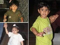 Taimur, Inaaya, Laksshya And Friends Began The Week At A Birthday Party. See Pics