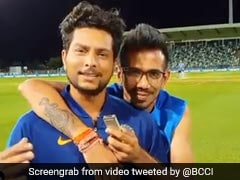"Yuzvendra Chahal's ""Partner In Crime"" Kuldeep Yadav Debuts On Chahal TV. Watch"