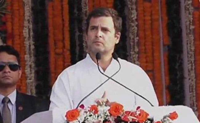 गरीबी पर राहुल गांधी का वादा...