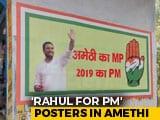 Video : Rahul Gandhi Visits Amethi, Seat Spared By Akhilesh Yadav-Mayawati Combo