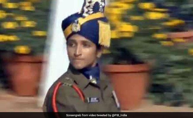 Lt Bhavana Kasturi Becomes 1st Woman To Lead All-Men Contingent At Rajpath