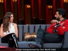 <i>Koffee With Karan 6</i>: Who Is Abhishek Bachchan More Afraid Of - Wife Or Mom? Sister Shweta Knows
