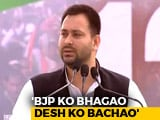 "Video : PM ""Manufacturer, Whole-Seller, Distributor"" Of Lies, Says Tejashwi Yadav"