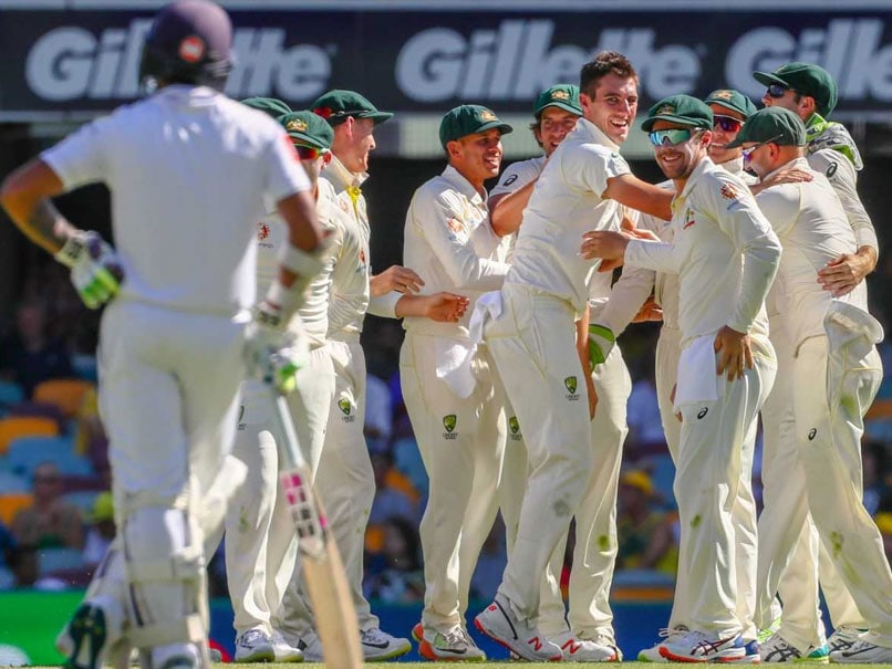 1st Test Pat Mins Leads Australian Rout Of Sri Lanka