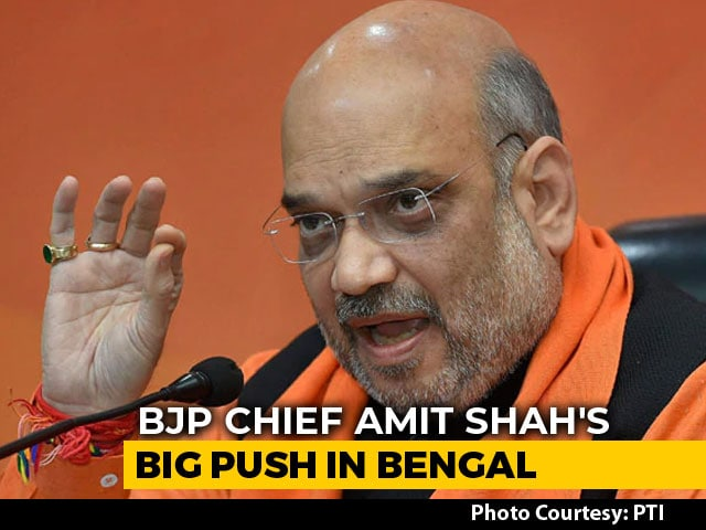 Video : 23 Parties, 9 PM Aspirants At Opposition's Unity Show: Amit Shah's Dig