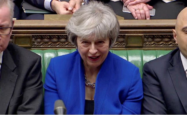 British PM Theresa May Wins Confidence Vote After Brexit Humiliation