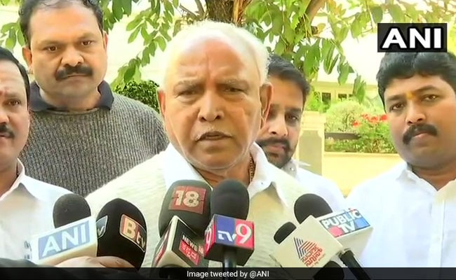 Volcano Waiting To Erupt In Congress-JDS Alliance: BS Yeddyurappa