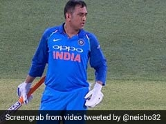 India vs Australia: MS Dhoni Snaps At Khaleel Ahmed During Adelaide ODI - Watch