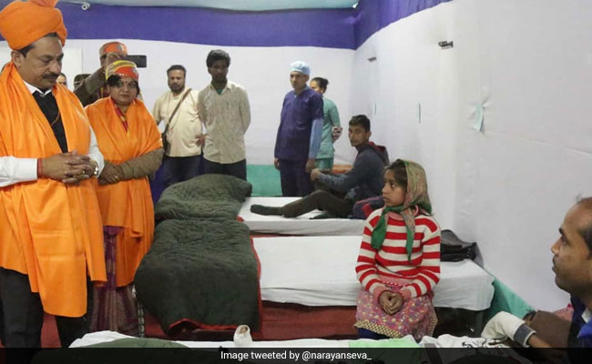 NGO Sets Up 100-Bed Hospital At Kumbh Mela Venue In Prayagraj