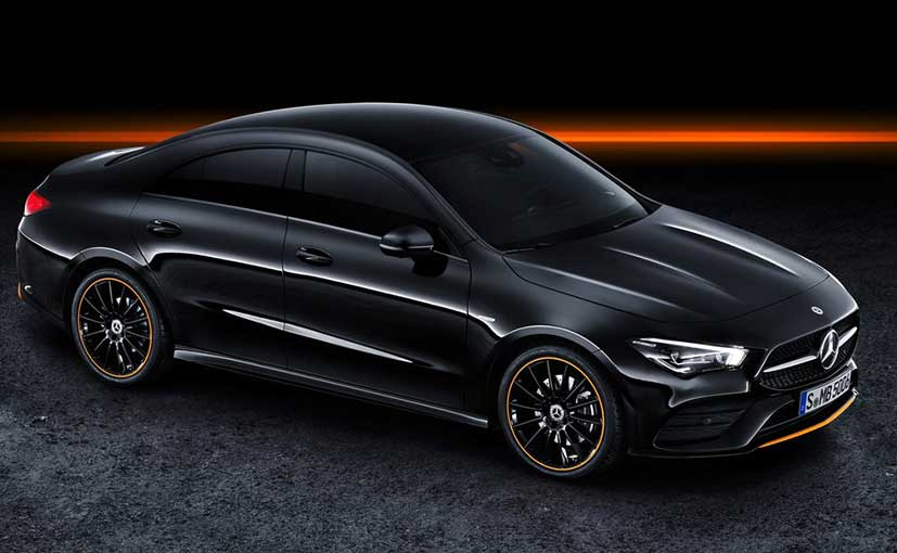 Mercedes-Benz has retained the swooping body shape with the new CLA.