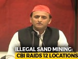 Video : Akhilesh Yadav May Be Probed In UP's Sand Mining Scam: CBI Sources