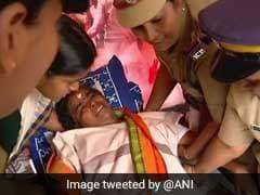 BJP Leader VT Rema On Hunger Strike Over Sabarimala Shifted To Hospital