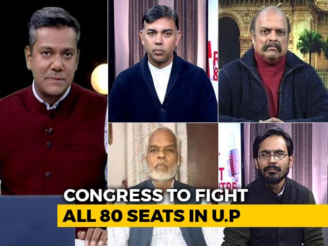 Video : Battle For Uttar Pradesh: Can Congress Up Its Game?