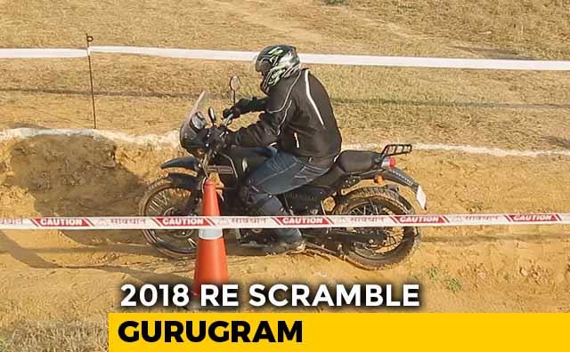 Video : 2018 Royal Enfield Scramble - Gurugram