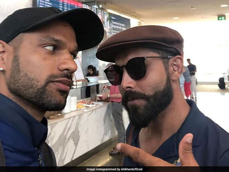 """Yuvraj Singh Can't Stop Laughing At Shikhar Dhawan's Picture With """"Detective Jaddu"""""""