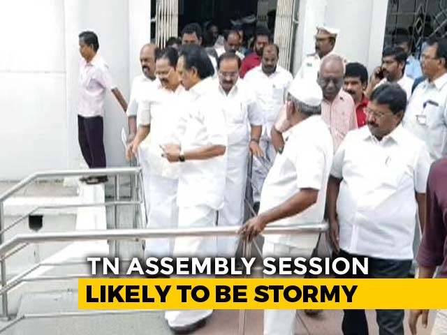 Video : DMK Boycotts Governor's Address, Says AIADMK Government Paralysed