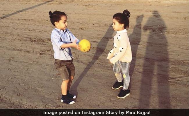 Mira Rajput Shares Pics Of Misha's Playdate With Abhishek Kapoor's Son Isana. So Cute