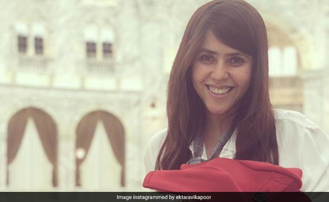 Ekta Kapoor becomes a mother to a Baby Boy via surrogacy