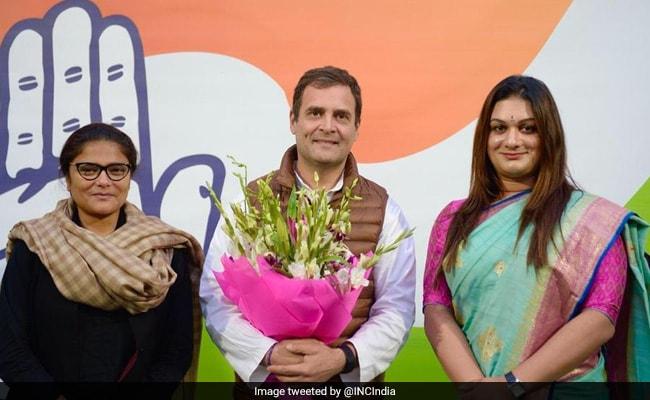 राहुल गांधी ने ट्रांसजेंडर अप्सरा रेड्डी को किया कांग्रेस में शामिल, Twitter पर यूं आया रिएक्शन...