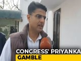 "Video : ""Must Get Our Act Together"": Sachin Pilot On Priyanka Gandhi's New Role"