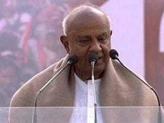 """Pained by Congress Leaders Blaming My Party For Poll Defeat"": Deve Gowda"