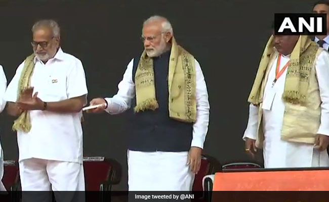 PM Modi Launches Projects Worth 4,500-Crore In Odisha As Polls Near