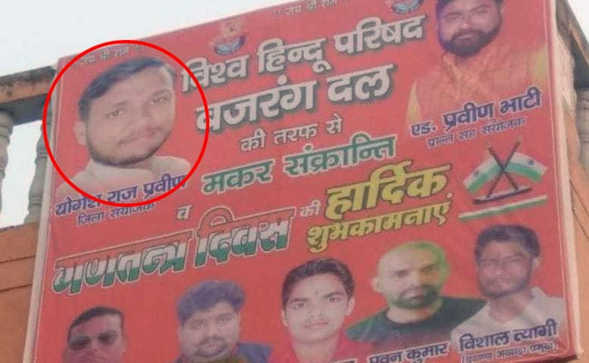 Bulandshahr Violence Main Accused Sends 'Wishes' In Bajrang Dal Posters