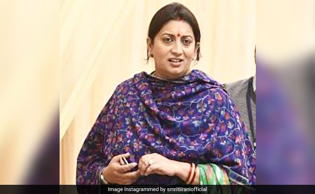 Smriti Irani's Day Of The Week Posts Are Very Relatable