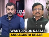 "Video : ""NDA Not Anyone's Property"": Shiv Sena's Sanjay Raut To NDTV"