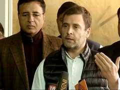 """Nirmala Sitharaman Ran Away From My Questions On Rafale"": Rahul Gandhi"