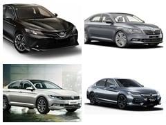 Toyota Camry Hybrid Vs Honda Accord Hybrid Vs Skoda Superb: Specifications And Price Comparison
