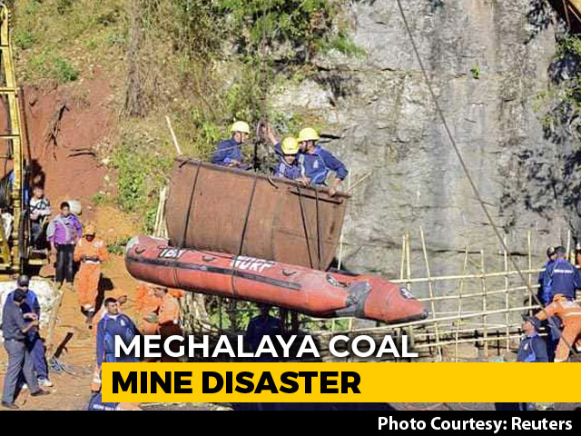 Video : Will Take Time To Retrieve Body Of Trapped Miner In Meghalaya: Navy