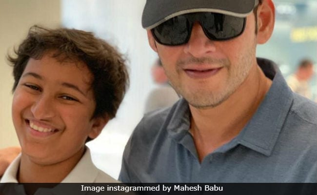 Mahesh Babu's Pic With 'Best Buddy' Son Gautham Is All Love