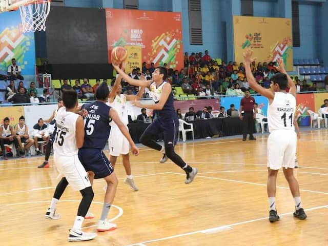 Khelo India Youth Games: Dominant Punjab Cagers Enter Semis Of Under-17 Basketball