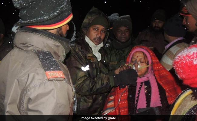 Over 150 Tourists Stuck In Sikkim Due To Heavy Snowfall Rescued By Army
