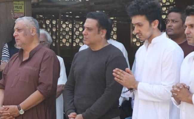 Govinda's Nephew Janmendra Ahuja Dies In Mumbai. Actor Attends Funeral With Son Yashvardan