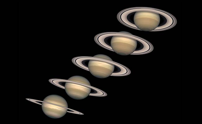Lord Of The Rings: Saturn's Halo May Be Relatively Recent Trait
