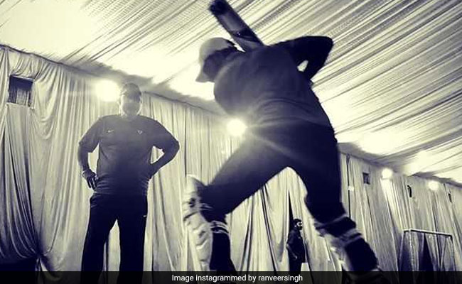 Ranveer Singh Begins Training For '83. Shares Pic From The Prep Session